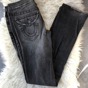 True Religion, Billy  Grey Denim Flare